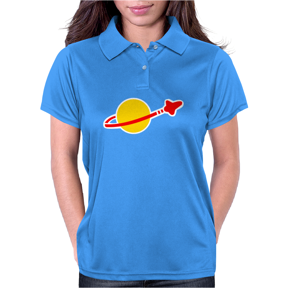 Lego Classic Space Logo Big Bang Theory Womens Polo