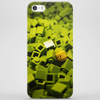 Lego - Head in the green Phone Case