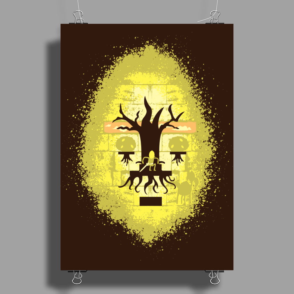 Lemon Leader Poster Print (Portrait)