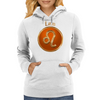 Leo Astrology Sign Womens Hoodie