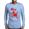 Leo Zodiac Sign Mens Long Sleeve T-Shirt