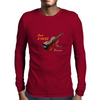 Less stress, more Strauss Mens Long Sleeve T-Shirt