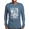 Let The Wild Rumpus Mens Long Sleeve T-Shirt