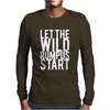 Let The Wild Rumpus Start Mens Long Sleeve T-Shirt