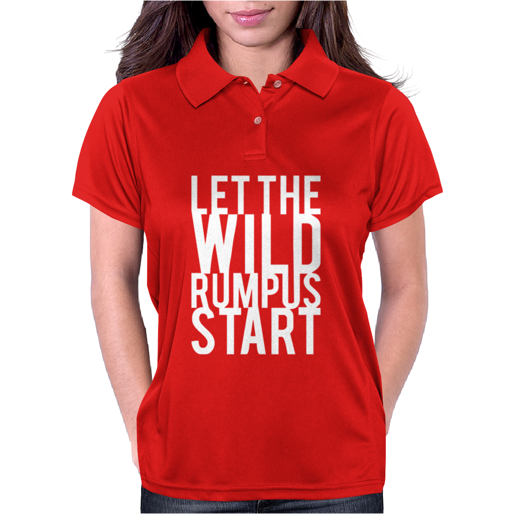 Let The Wild Rumpus Start Womens Polo