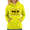 Let yourself get carried away! Womens Hoodie