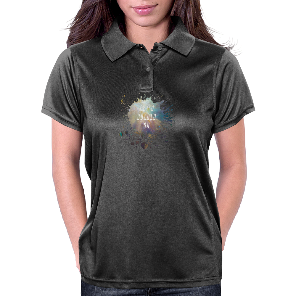 Let's Boldly Go Womens Polo