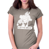 Let's Box Womens Fitted T-Shirt