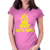 Let's Cook Womens Fitted T-Shirt