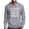 LET'S CUDDLE AND WATCH STAR WARS Mens Hoodie