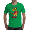 Let's Dance Dinosaur Mens T-Shirt