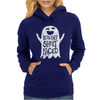 Lets Get Sheet Faced Ghost Womens Hoodie