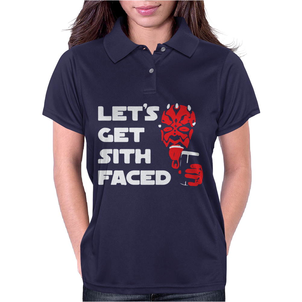 Let's Get Sith Faced. Womens Polo
