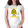 Lets Get Stuffed Womens Fitted T-Shirt