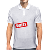 LET'S GET WHEY STED Mens Polo
