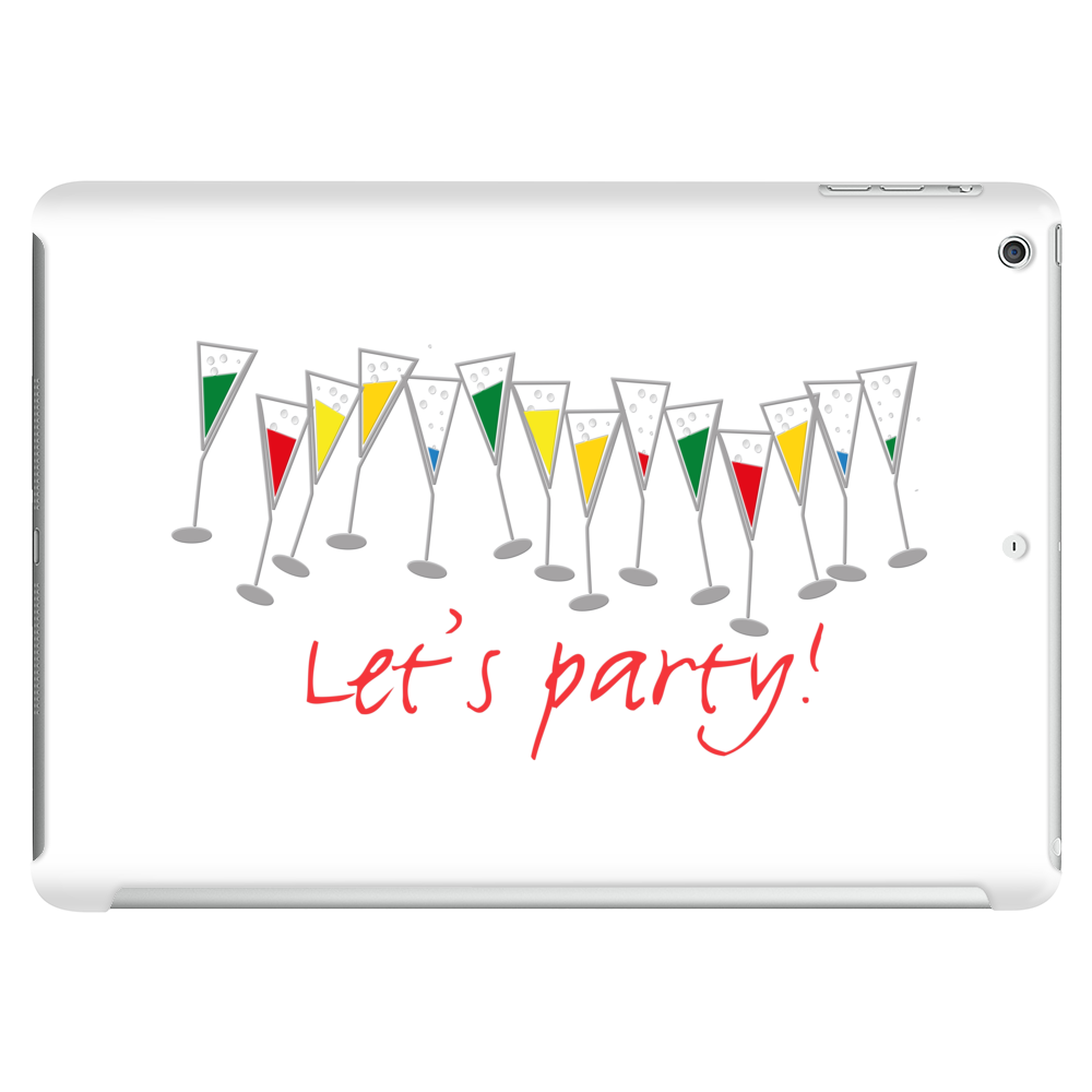Let's party! Tablet (horizontal)