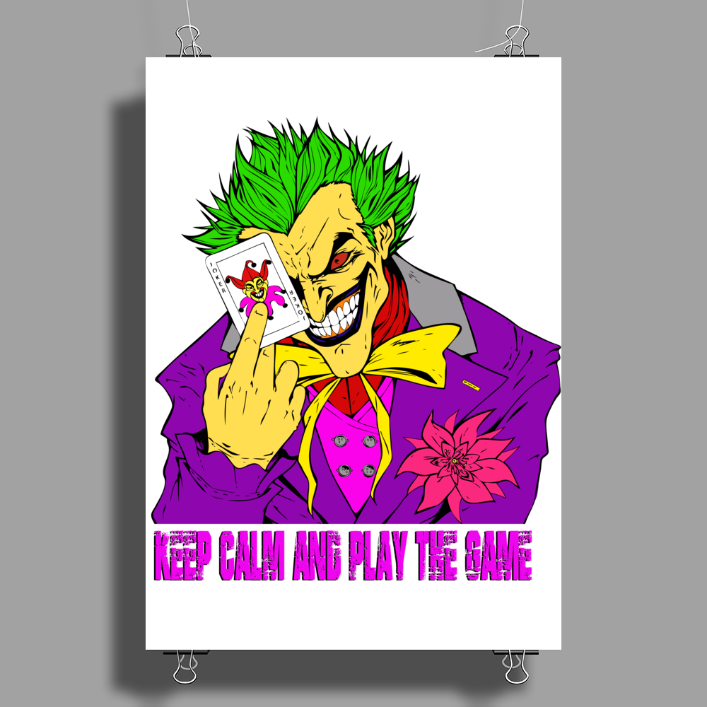 Let's Play The Game Poster Print (Portrait)