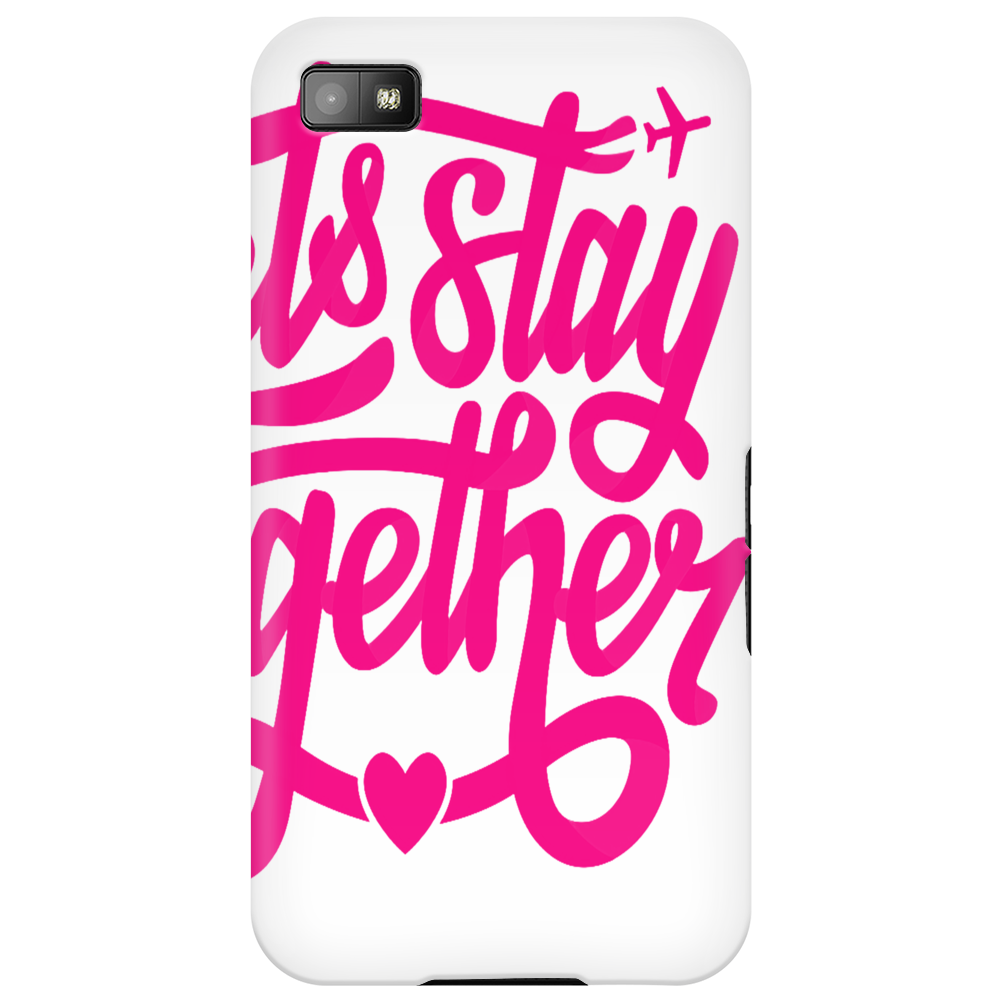 lets stay together Phone Case