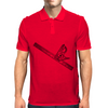 level, carpenters square, square, Mens Polo