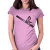 level, carpenters square, square, Womens Fitted T-Shirt