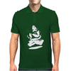 Levitating Buddha. Mens Polo