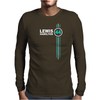 Lewis Hamilton Number 44 Mens Long Sleeve T-Shirt