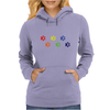 LGBT dog paws Womens Hoodie