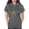 LGBT dog paws Womens Polo