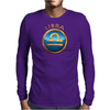 Libra Zodiac Sign Mens Long Sleeve T-Shirt