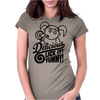 Lick It Delicious Womens Fitted T-Shirt