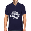 Life Begins After Coffee Mens Polo