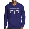 Life Behind Bars Bicycle Mens Hoodie