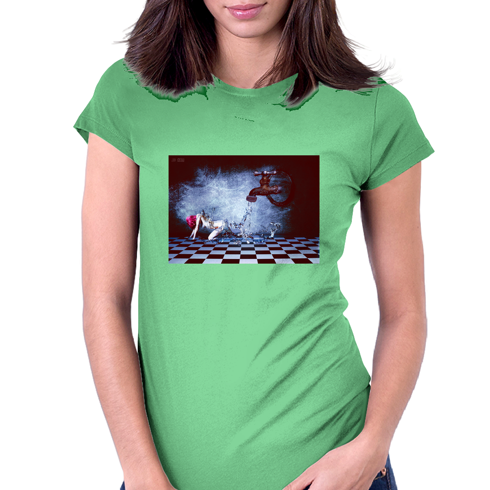 Life In The Water Womens Fitted T-Shirt