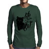 Life Is Better With A Cat Mens Long Sleeve T-Shirt