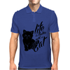 Life Is Better With A Cat Mens Polo