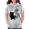 Life Is Better With A Cat Womens Polo