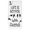 life is better with friends, birds twitter Phone Case