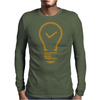 Light Tick icon Mens Long Sleeve T-Shirt