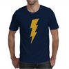 Lightning Bolt Camera Flash Mens T-Shirt