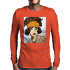 LILLY  ART DECO Mens Long Sleeve T-Shirt
