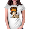 LILLY  ART DECO Womens Fitted T-Shirt