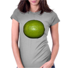lime Womens Fitted T-Shirt