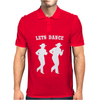 LINE DANCING country music Mens Polo