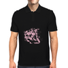 Lion (Bubblegum Pink) Mens Polo