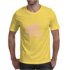 Lion (Bubblegum Pink) Mens T-Shirt