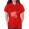 Lion (Bubblegum Pink) Womens Polo