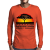 Lion Chant Mens Long Sleeve T-Shirt