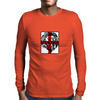 Lion, England, Red Cross Mens Long Sleeve T-Shirt