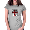 Lion, England, Red Cross Womens Fitted T-Shirt