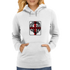 Lion, England, Red Cross Womens Hoodie